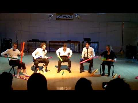 James Bond Theme for Boomwhackers Fall 2014