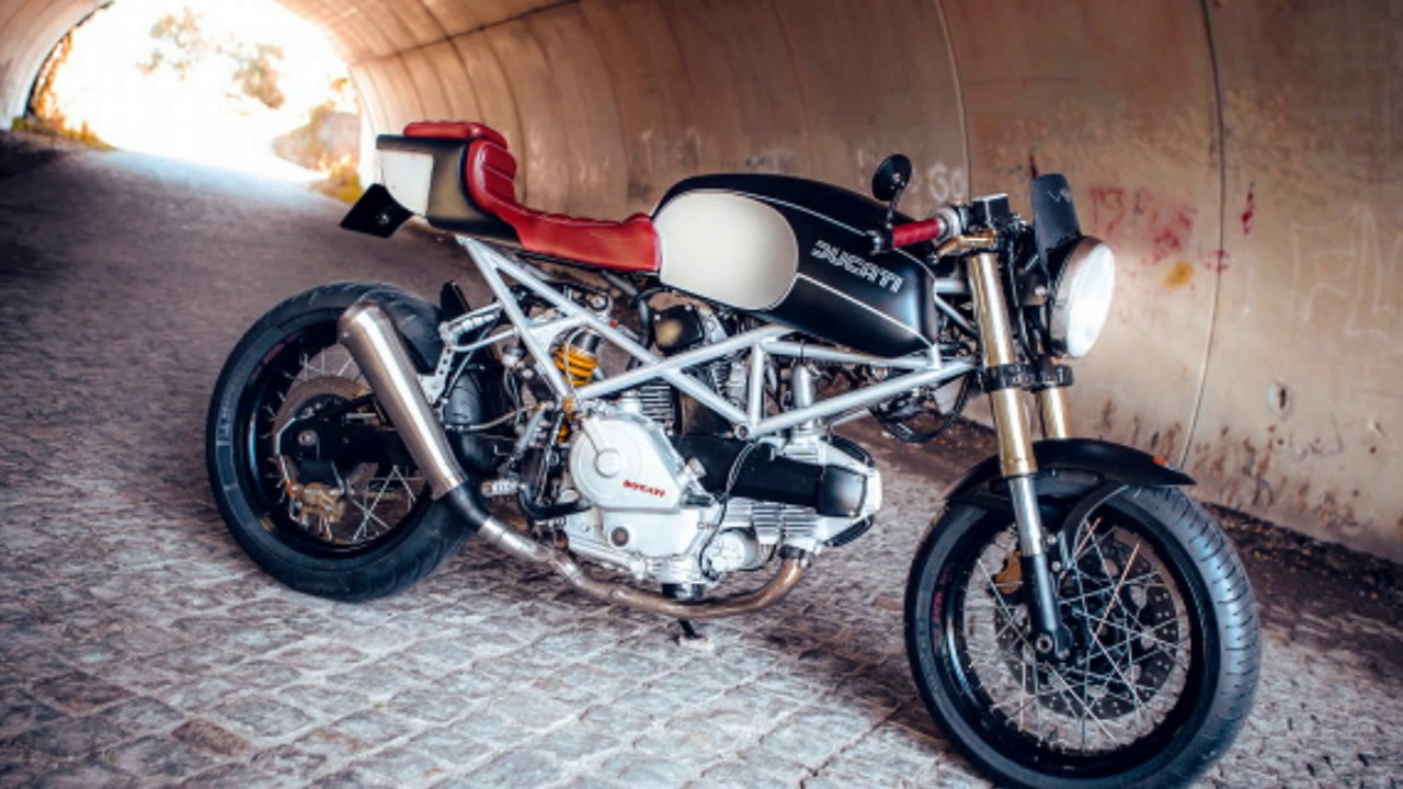 Ducati Monster 600 Cafe Racer Custom By Wrench N Wheels Youtube
