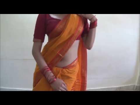 How To Wear Cotton Saree To LooK Graceful(2 Mints Sari Draping Tutorial)