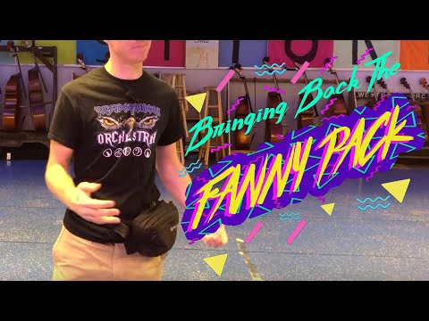 Fanny Packs, Wireless and in-ear monitors
