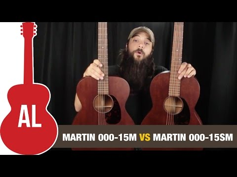 Martin 000-15M vs 000-15SM - 12-fret vs 14-fret Comparison