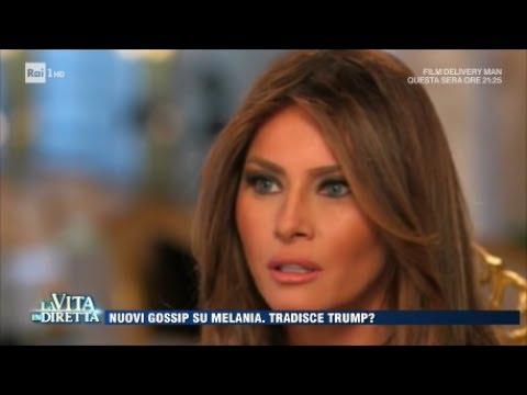 Melania Trump ha un amante?  - La Vita in Diretta 26/06/2017