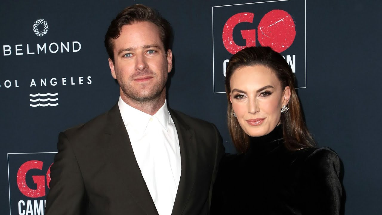 Armie Hammer and Elizabeth Chambers SPLITTING After 10 Years of Marriage