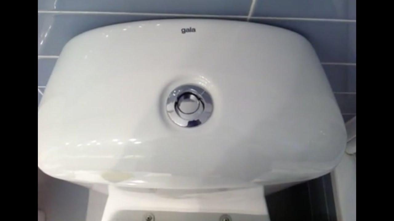 Como cambiar cisterna del inodoro water youtube for Cambiar mecanismo cisterna