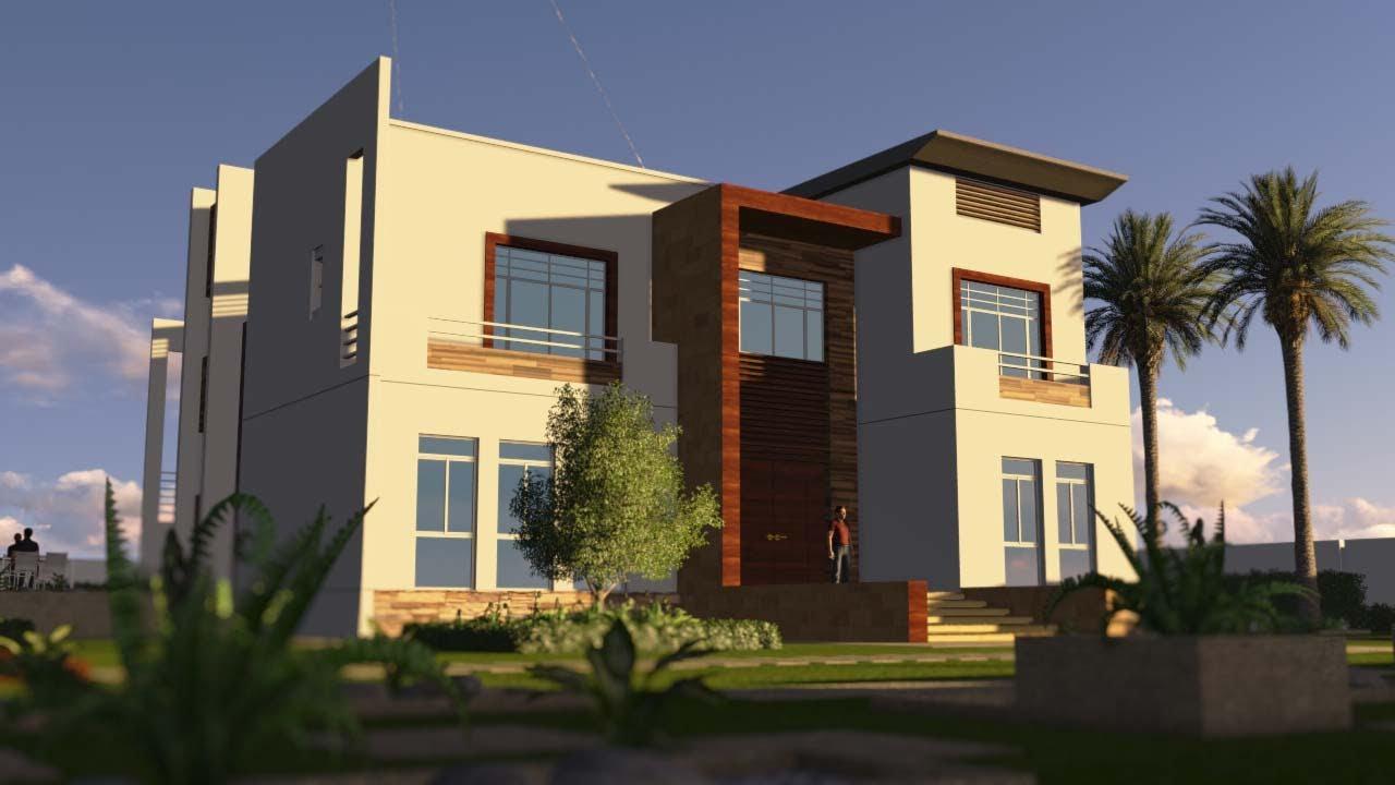 Contemporary house animation dream homes for Dream house 3d