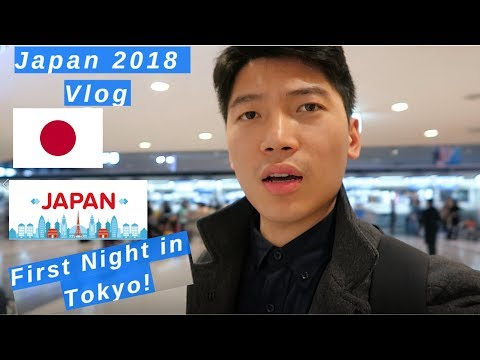 Japan Travel Vlog I First Night in Tokyo