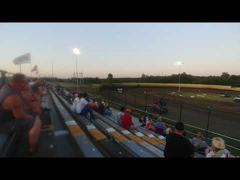 Creek County Speedway 7/20/19 CHAMP Sprint Car Heat 2