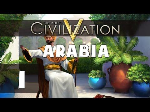 Civilization 5: Let's Play Arabia (Deity) - Part 1