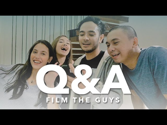 Q&A FILM THE GUYS (FEAT. PEVITA PEARCE, MARTHINO LIO, CAITLIN HALDERMAN)