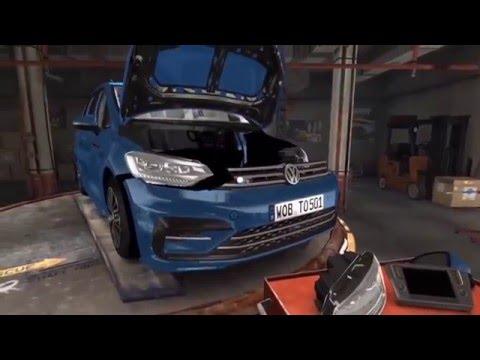 Virtual Assembling Training – Volkswagen VR