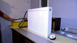 видео радиаторы стальные тип 10