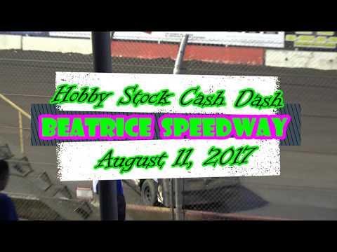 8/11/2017 Beatrice Speedway Hobby Cash Dash