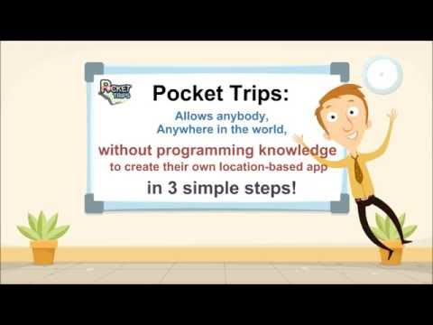 Creating Free & Easy Trails app for Tourists using Pocket Trip