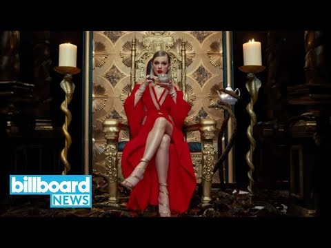 Taylor Swift Tops Billboard Hot 100 with 'Look What You Made Me Do' | Billboard News Mp3