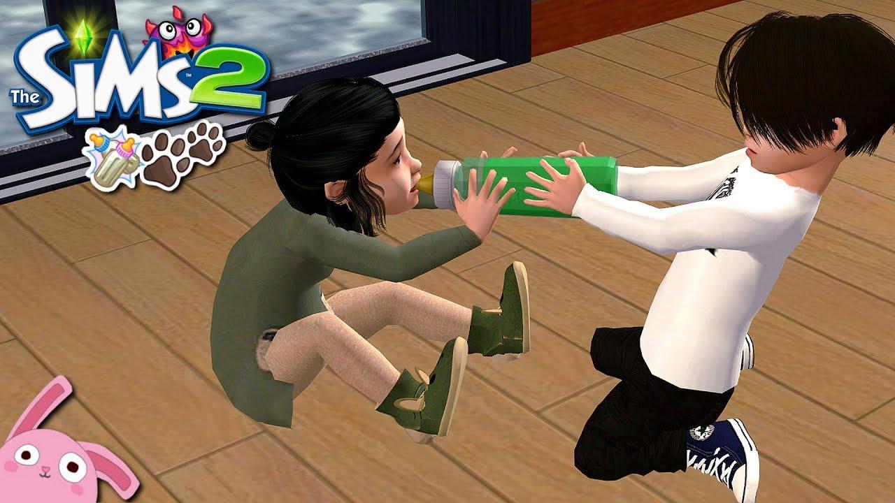 De Infantes Esto No Mejora Reto De Los 7 Biberones Y Más Los Sims 2 Ep 7 Youtube
