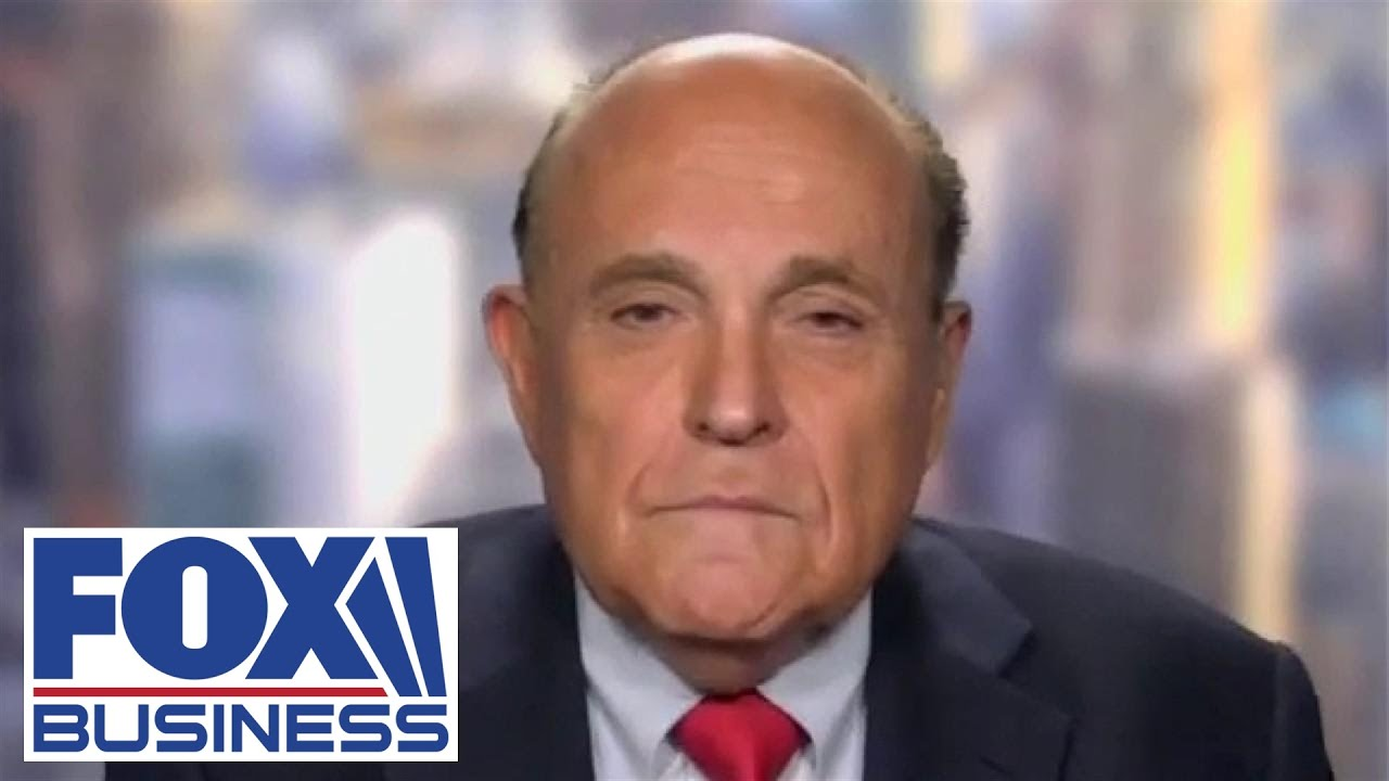 Giuliani shreds Dem mayors for defund the police despite spike in crime