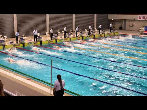 Virdhawal Khade- 100 freestyle finals - 14th NEO GARDEN Singapore Nationals 2018