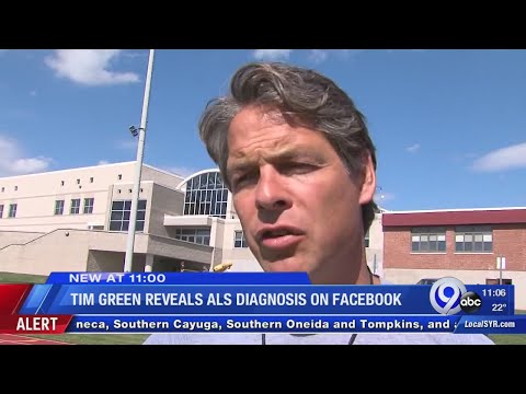 Tim Green reveals ALS diagnosis