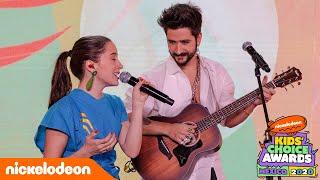 Camilo y Evaluna: ¡Presentación completa!   KCA MÉXICO 2020   Nickelodeon en Español