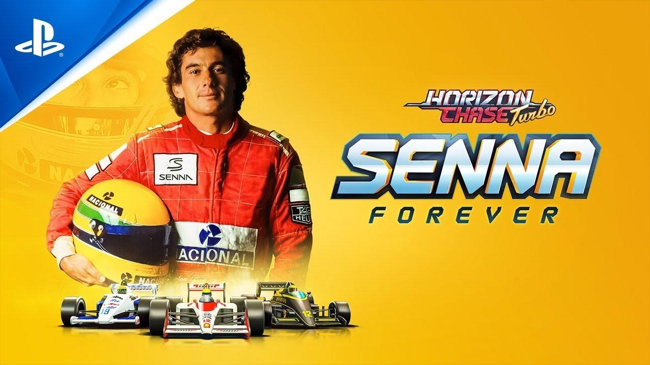 Horizon Chase Turbo - Gerações: Senna Sempre l PS5, PS4