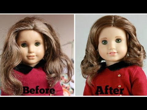 Fixing Up An Old American Girl Doll - Rebecca Rubin