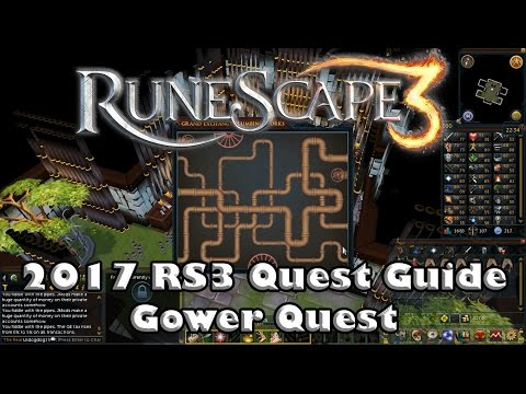 RS3 Quest Guide  - Gower Quest - 2017(Up to Date!)