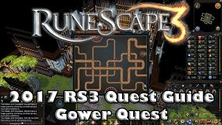 RS3 Quest Guide  - Gower Quest - 2017(Up to Date!) thumbnail