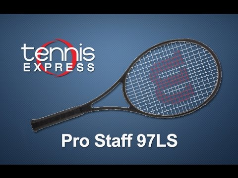 Wilson Pro Staff 97ls Tennis Racquet Review Tennis Express Youtube