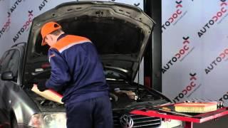 VW Gaisa filtrs nomainīt padomi