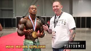 2018 Olympia Men's Physique Champion Brandon Hendrickson