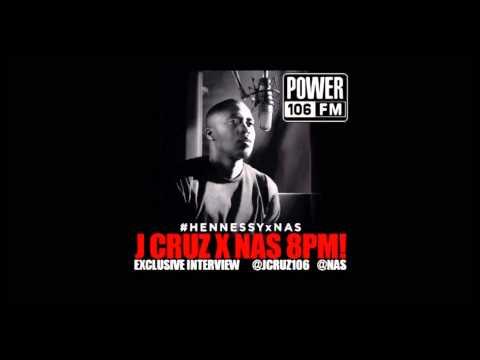 Nas tells J Cruz about responding to J. Cole Let Nas Down on power 106