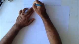 Perspectiva com três pontos de fuga:passo-a-passo - 3 Point perspective Drawings
