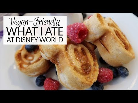 What I Ate | Vegan-Friendly at Disney World