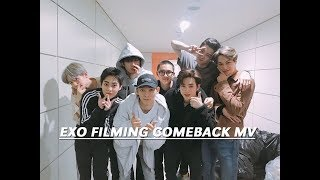 EXO begin filming their comeback MV