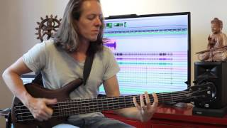 TesseracT - Messenger (bass video) (from Polaris)