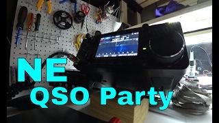 icom ic 7300 ham radio contest contacts   ne qso party   cw ssb