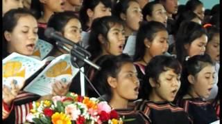 Lễ cảm tạ nhà thờ tại plei A thai phú thiện