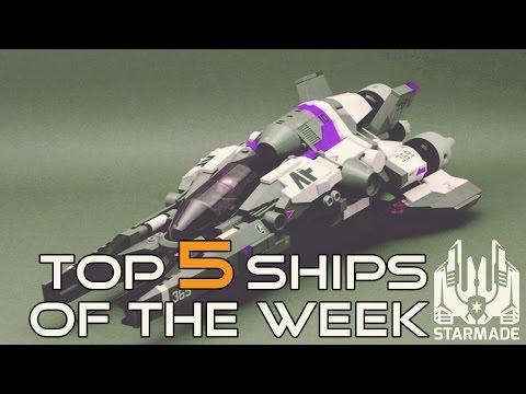 𝐒𝐓𝐀𝐑𝐌𝐀𝐃𝐄 🚀 #260 - Top 5 ships of the week [week #7]