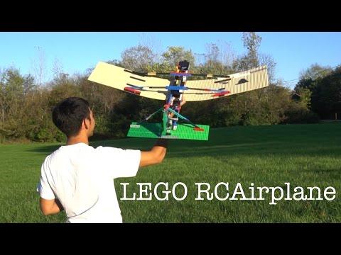 RC Flying Lego Airplane
