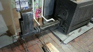 Ракетная печь для водяного отопления есть ли польза?