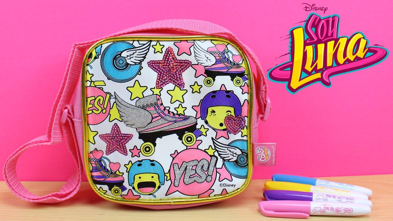 Bolso de SOY LUNA para colorear  Juguetes de Soy Luna en espaol