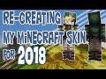 SKIN UPGRADE   Making My 2018 Minecraft Skin! [Speedpaint]