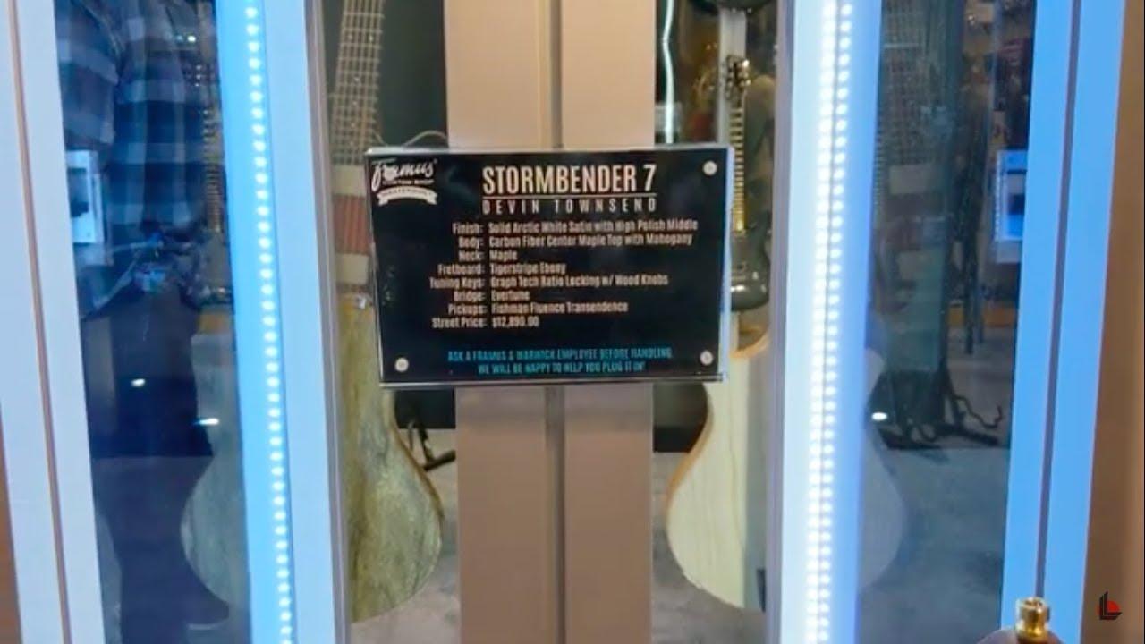 namm 2019 devin townsend framus stormbender 7 guitar youtube. Black Bedroom Furniture Sets. Home Design Ideas