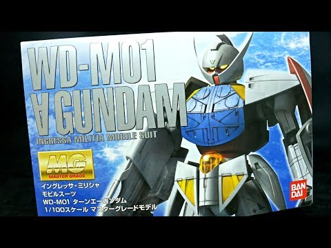 1272 - MG Turn A Gundam UNBOXING