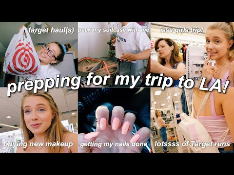 Everything I Did To Prepare For My LA Trip *VLOG*