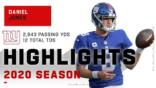 Daniel Jones Full Season Highlights