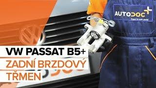 Instalace levý a pravý Brzdové třmeny VW PASSAT: video příručky