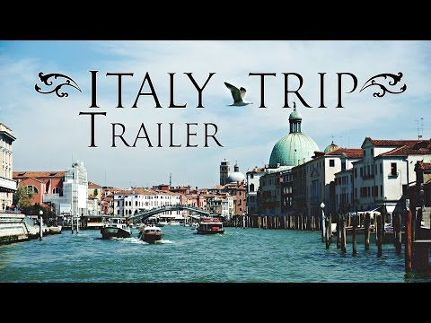 Italy Trip - Bel Paese, The beautiful Country || Trailer