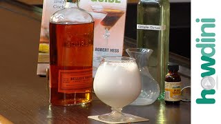 How to Make a Bourbon Milk Punch Cocktail
