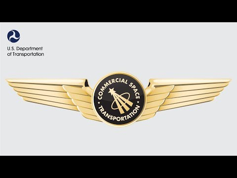 Commercial Astronaut Wings Presentation for Virgin Galactic